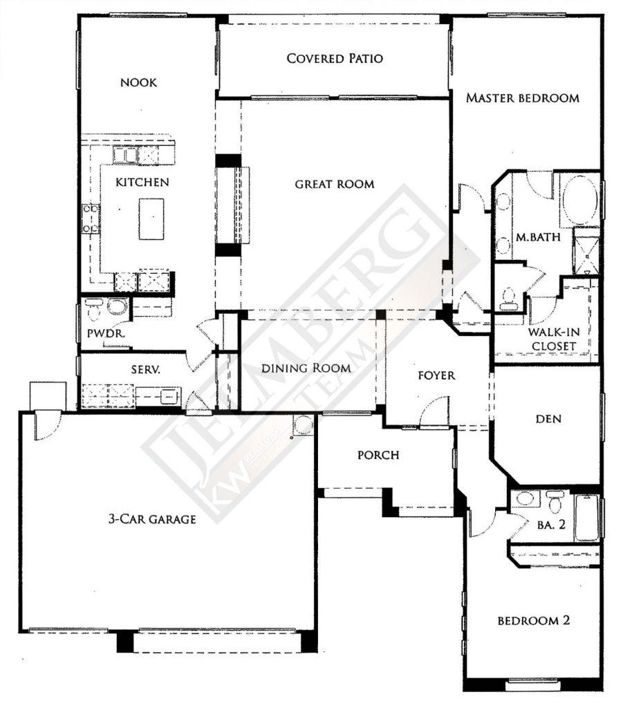Dorado Floor Plan