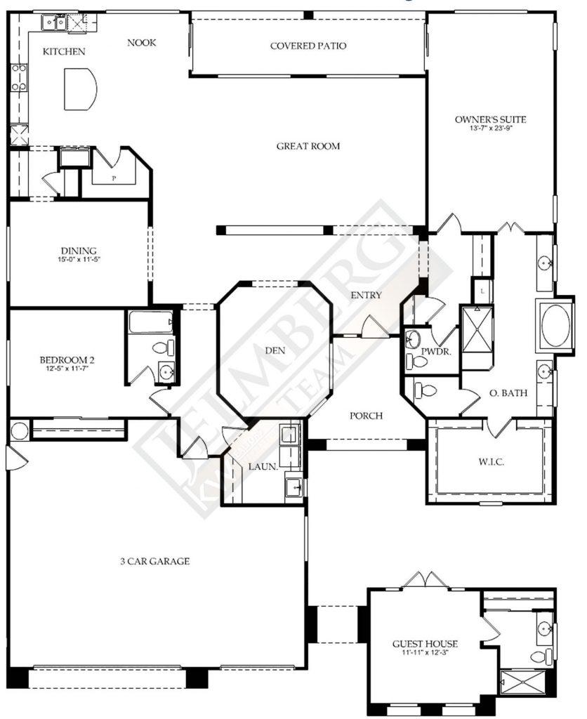 La Paz Floor Plan