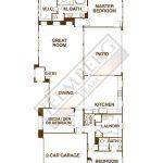 BOSCHETTO Model Floor Plan Trilogy Polo Club