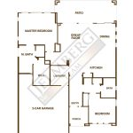 St. Tropez Floor Plan Model Trilogy Polo Club