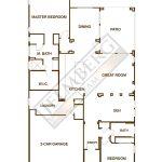 Nice Floor Plan Model Trilogy Polo Club