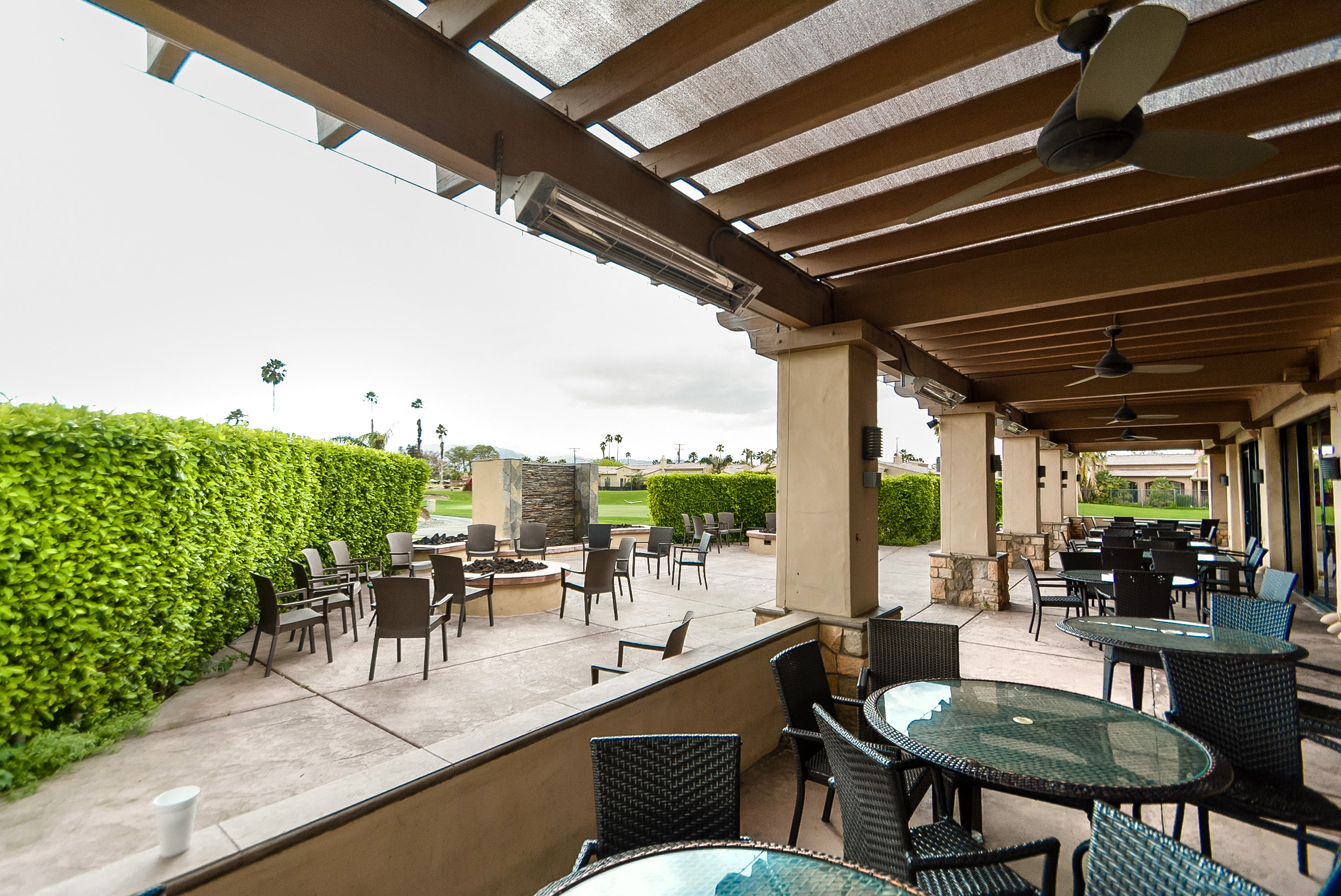 Patio Area at the Clubhouse