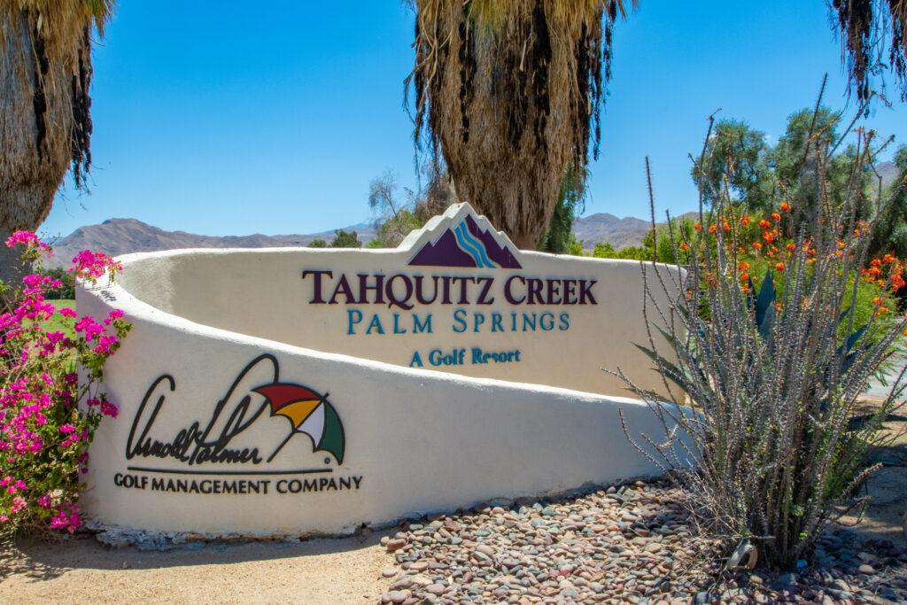 Tahquitz Creek GC Signage