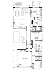 Aura Floor Plan - Residence 3