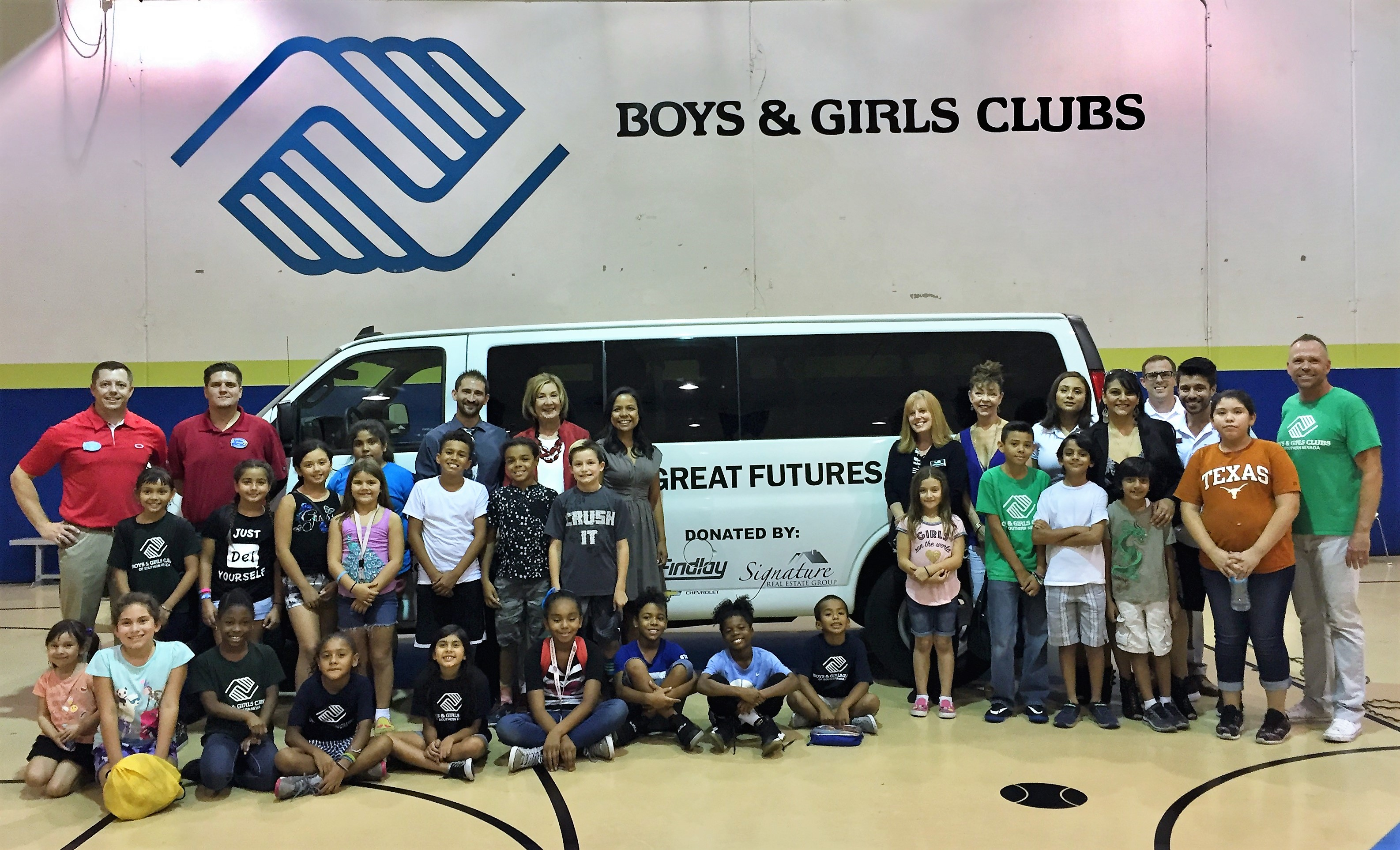 ... Forces Recently To Help Provide Backpacks And School Supplies To  Underserved Youth; And The Donation Also Included A 2016 15 Passenger  Chevrolet Van.