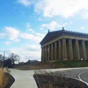 Centennial Park Nashville.