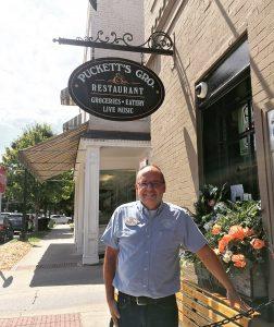 Tom Zazzetti, GM of Puckett's Gro & Restaurant in Downtown Franklin, TN