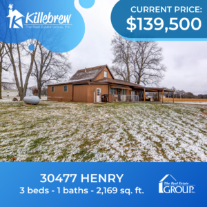 30477 Henry - 3bed, 1bath - $139,500