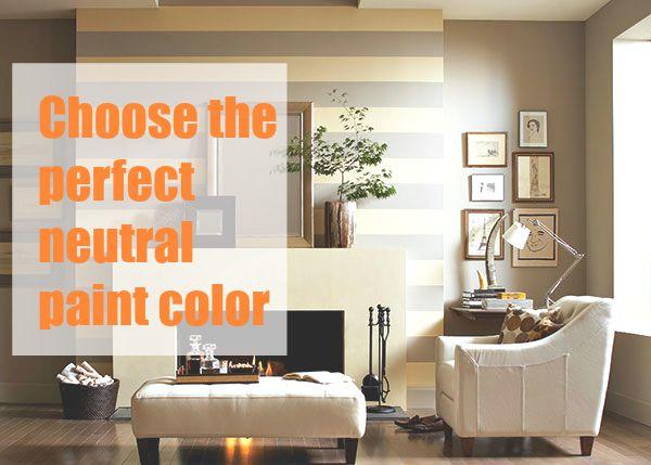 perfect neutral paint color