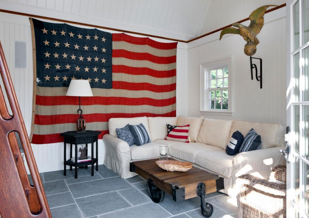 Beach Style Living Room - beach-style - Living Room - Boston