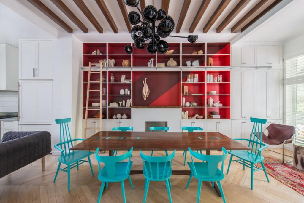 Brooklyn Brownstone - contemporary - Dining Room - Portland - Jessica Helgerson Interior Design