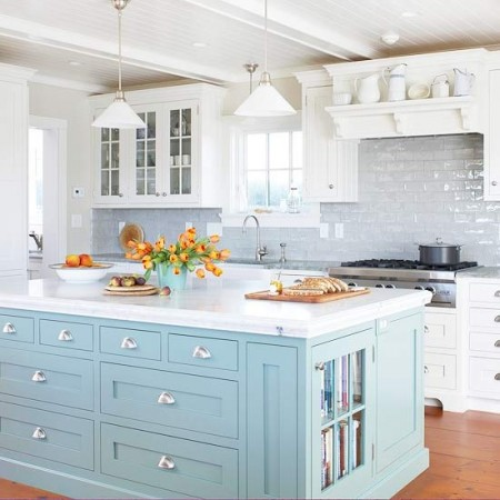 baby-blue-painted-kitchen-island-450x450