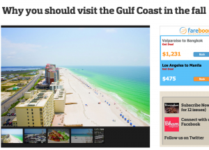 Why you should visit the Gulf Coast in the fall