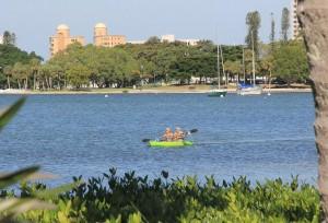 View from Sarasota Bay