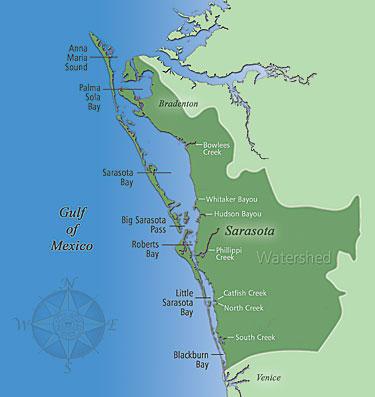 Sarasota Bay Tributaries & Inlets
