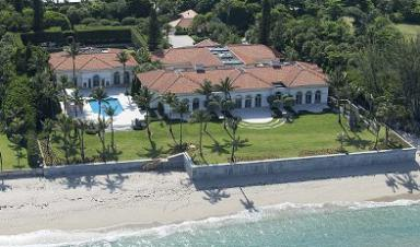 Shock Jock Howard Stern's Mansion in Florida.