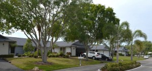 The 18 Portside Villas are single floor homes. | The Landings | Sarasota, Florida