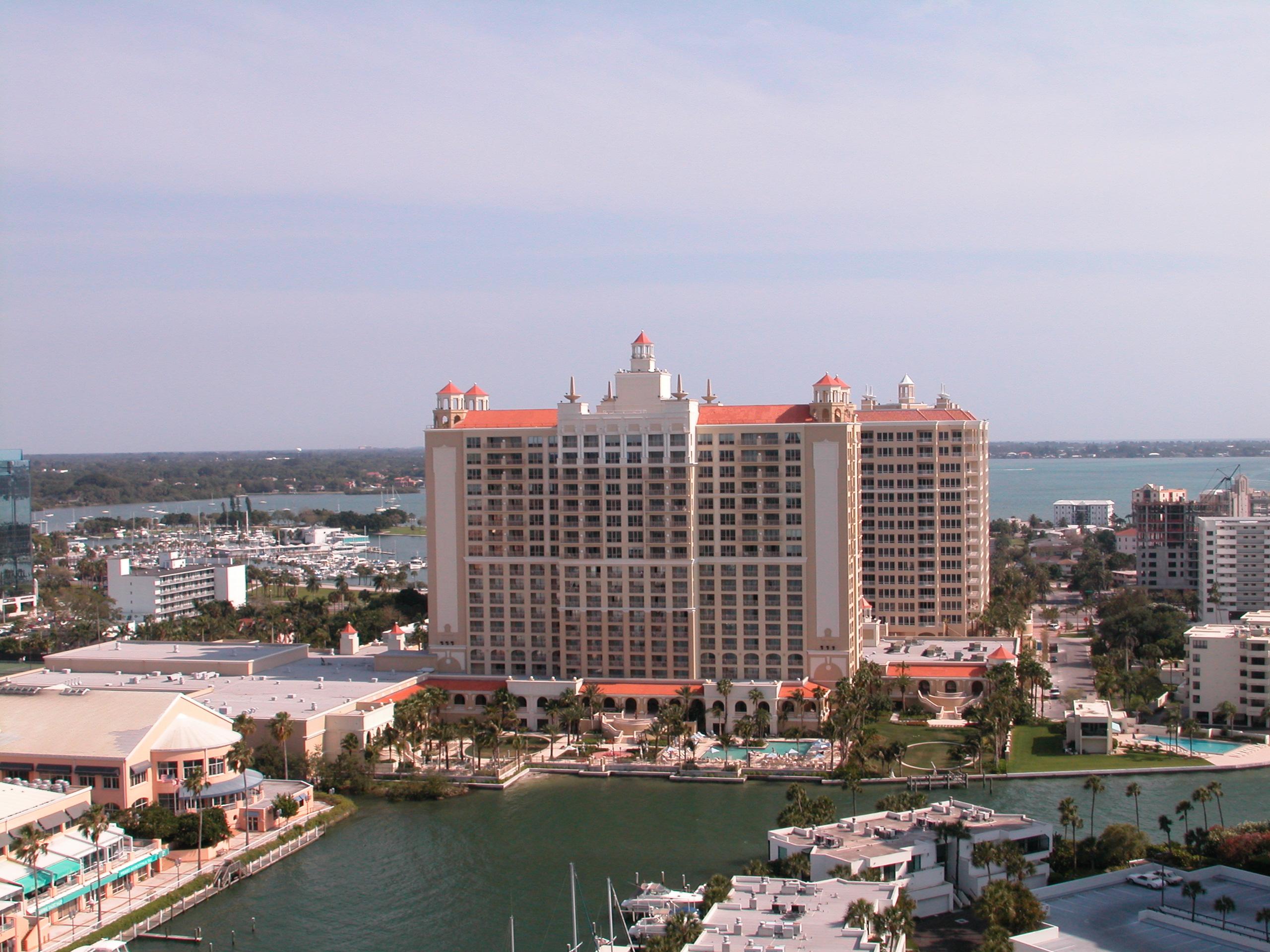 The Ritz Carlton, Sarasota High-end quarters with balconies & smart TVs, plus an 18-hole golf course & a free beach shuttle. 1111 Ritz Carlton Dr, Sarasota, FL 34236 ritzcarlton.com (941) 309-2000