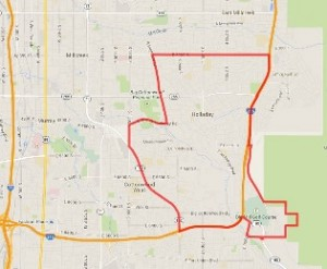 holladay map