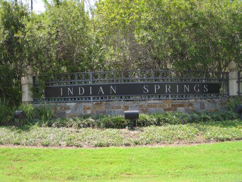 Indian Spring Parks front