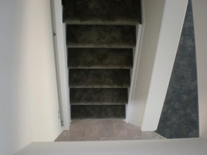 When you want buyers to know there are stairs but don't want to spoil the mystery of where they lead.