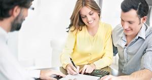 millenials signing paperwork
