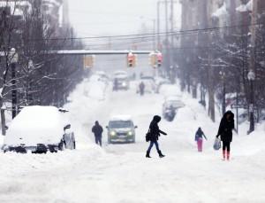 Winter upstate