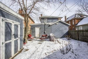 681 Kerr Street Columbus, OH 43215 Rear of Home