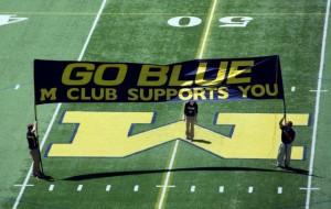 M Club Banner