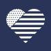 Flag Heart Icon