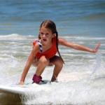 Loren Surfing