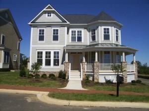 Village Case neighborhood in Purcellville Virginia