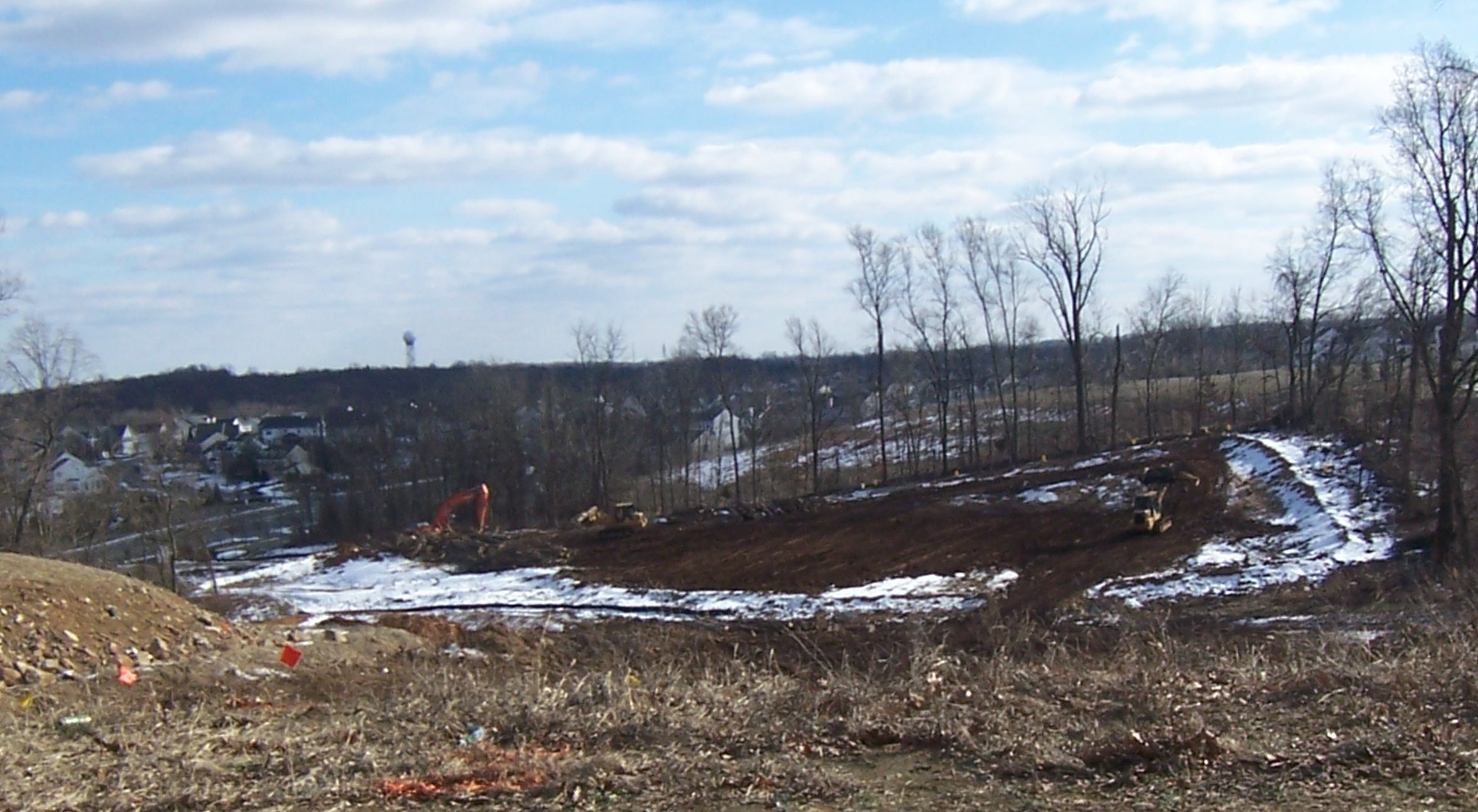 Kincaid Forest breaking ground