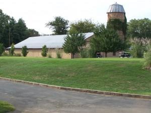 original barn and silo