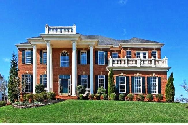 Lansdowne on the Potomac estate home