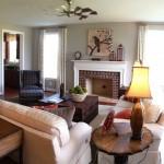 Ravensworth model family room