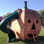 Pumpkin playhouse
