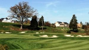 Creighton Farms Golf Club 7th hole