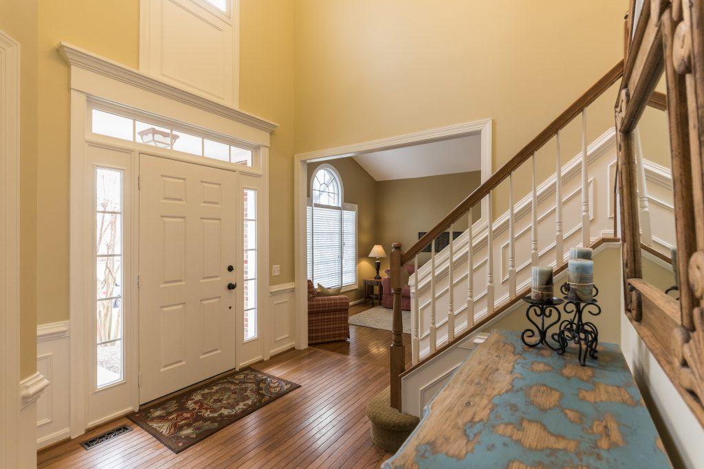 Woodlea Manor foyer