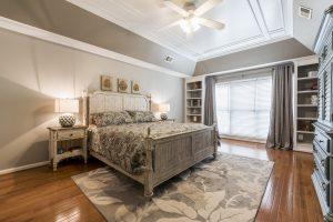 Woodlea Manor primary bedroom