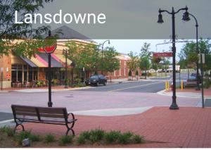 Lansdowne neighborhood in Leesburg