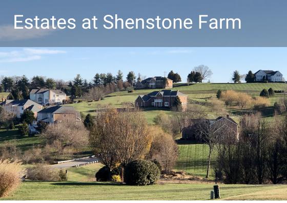 Estates at Shenstone Farm, Shenstone Farm, Shenstone Farm neighborhood