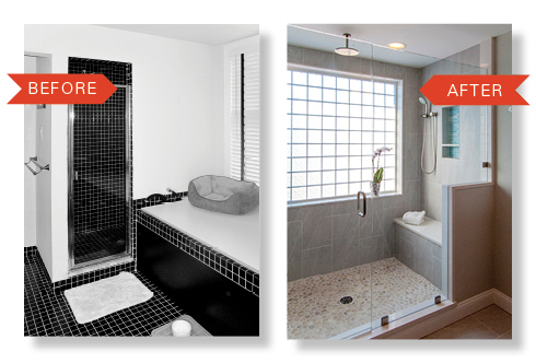 En Suite Remodel Isnt A Reason To Not Buy A House If It Has The Space - Bathroom expansion before and after
