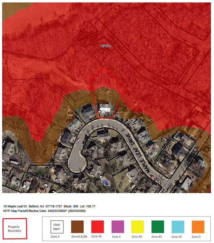flood map sample