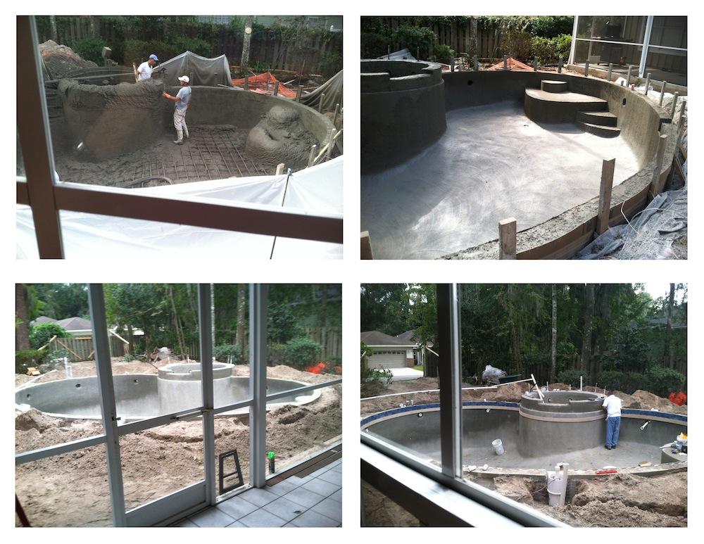 Pool Progress