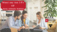 What are the 3 p's of real estate