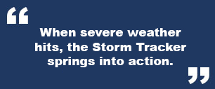 Spotlighting WAFF's Storm Tracker   Huntsville Real Estate