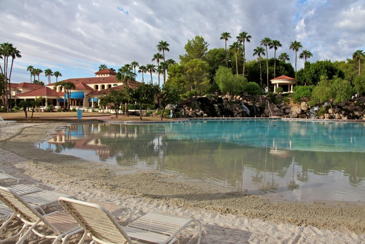 sandy-beach-val-vista-lakes-clubhouse | The Daniel Montez ...