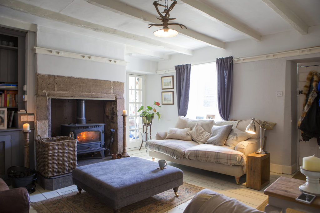 A beautiful photo of a cosy living room