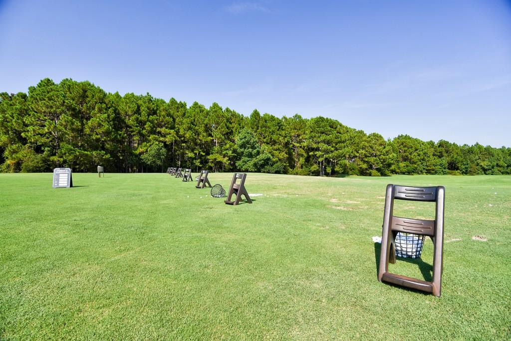 Driving Range at Burnt Pine Golf Club in Sandestin